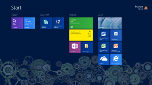 Marlon Ribunal Minimal Windows 8 Start Screen