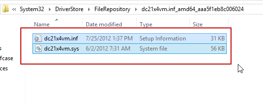 Files needed to install Legacy Network Adapter to a Windows Server 2003 VM in Hyper-V
