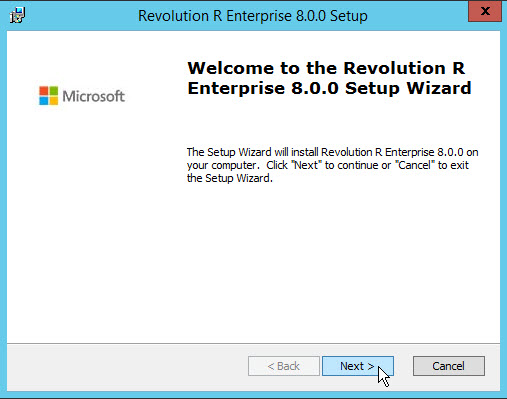 Revolution R Enterprise 8.0.0