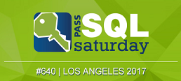 SQL Saturday Los Angeles 2017